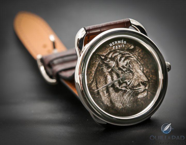 hermes-arceau-tigre-watch-is-something-never-seen-before3 watch Hermès Arceau Tigre Watch is Something Never Seen Before Herm s Arceau Tigre Watch is Something Never Seen Before3