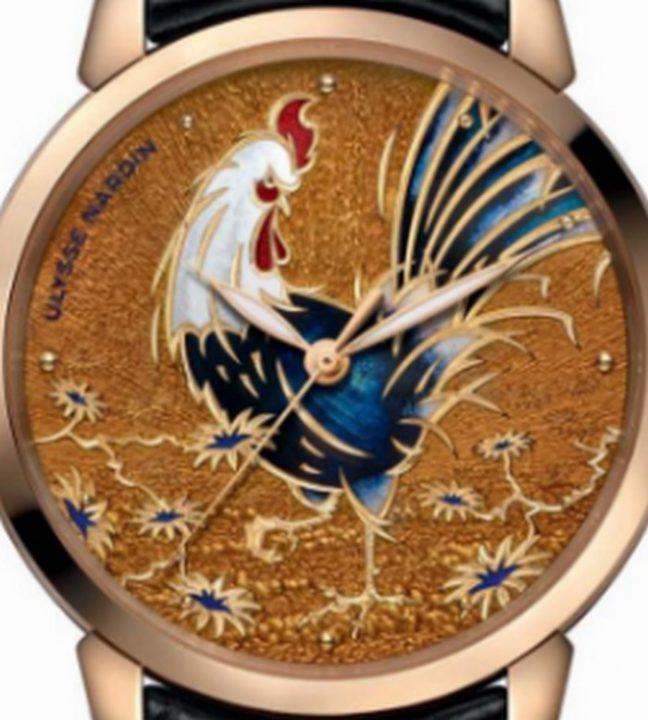 afe89740b3e4781995099fae285689c9 luxury watches Ulysse Nardin's 'Year of the Rooster' luxury watches afe89740b3e4781995099fae285689c9