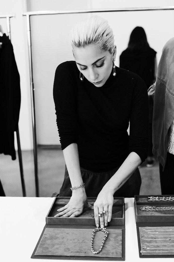 Lady Gaga lady gaga Lady Gaga in the new campaign for the Tiffany HardWear Jewelry Collection 03 lady gaga tiffanys 2017 billboard embed
