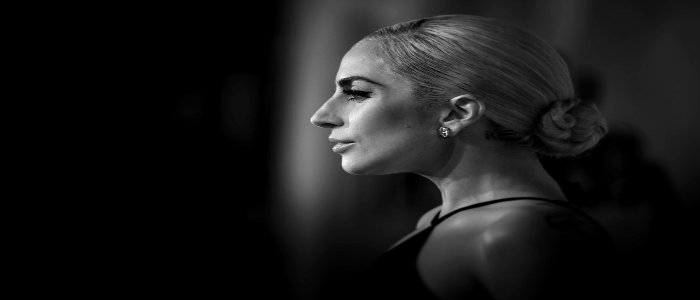 Lady Gaga in the new campaign for the Tiffany HardWear Jewelry Collection