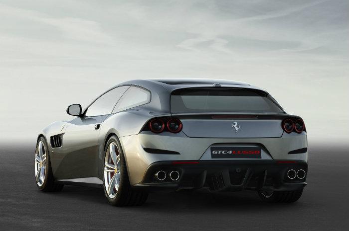 Ferrari 2017 Revelation – Ferrari GTC4Lusso 2017 Ferrari GTC4Lusso rear three quarter 1