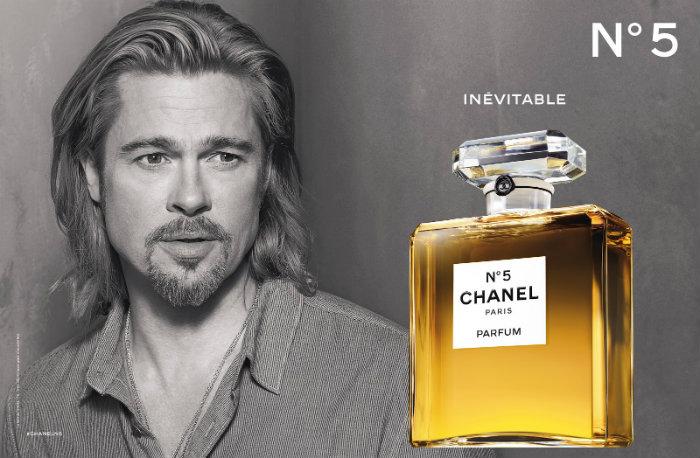 The New Chanel nº5 The New Chanel nº5 The New Chanel nº5 perfume Chanel N5 Brad Pit