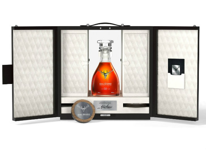 the dalmore the dalmore The Dalmore Celebrate Richard Paterson's 50th Year With Special Single Malt the dalmore 50 presentation case 12 HR 1