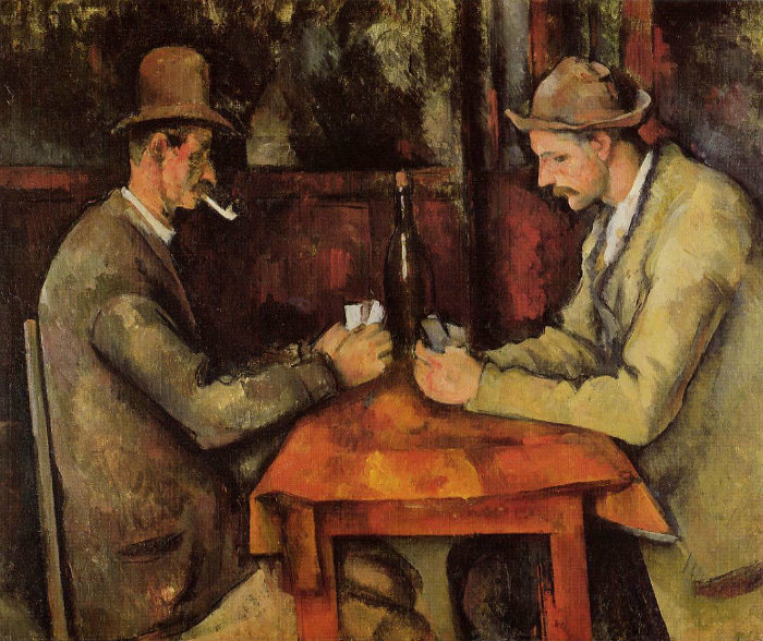 Expensive Expensive Top 5 Most Expensive Paintings in the World Card Players Paul Cezanne