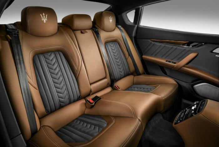 Sedili-posteriori-ZEGNA maserati Exclusive Quattroporte By Maserati Sedili posteriori ZEGNA