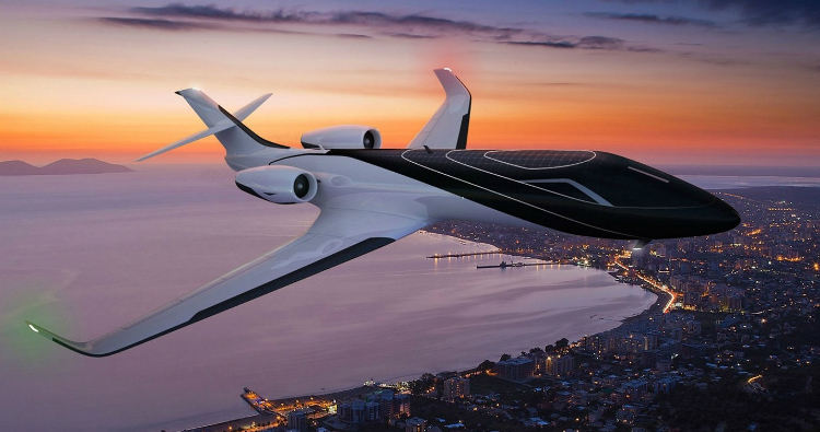 The Most Amazing Private Jets