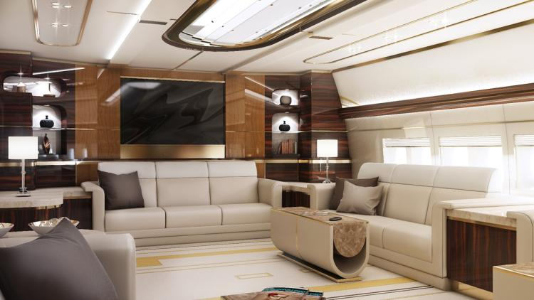 Sneak Peak: Inside the 5 most luxurious private jets