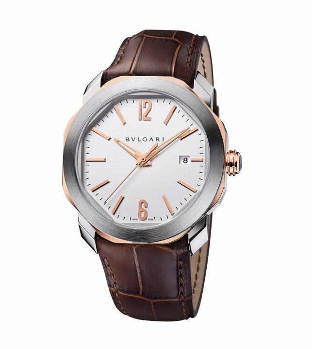 Bulgari_Octo_Roma_two-tone_silverdial_102703_1000 bulgari Luxury Timepiece: Bulgari Octo Roma Bulgari Octo Roma two tone silverdial 102703 1000