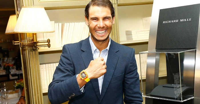 Richard Mille Watch of a Champion: Richard Mille teams up with Raphael Nadal 104492774 rafael nadal mille