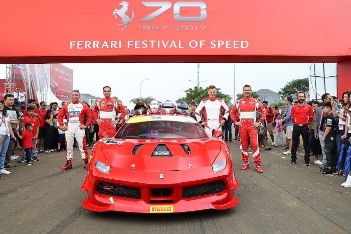 Ferrari Ferrari Festival in Jakarta 20170423 la1ferrarifestivalofspeed 0037