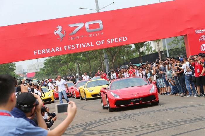 Ferrari Ferrari Festival in Jakarta 20170423 la2ferrarifestivalofspeed 9367