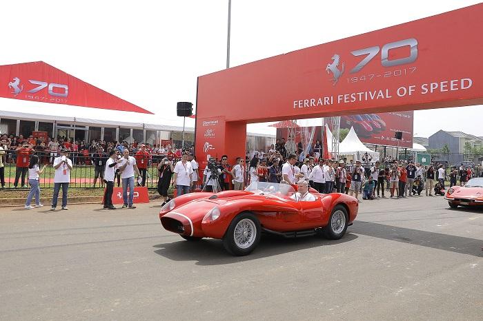 Ferrari Ferrari Festival in Jakarta 20170423 la7ferrarifestivalofspeed 7757