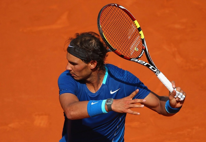 Richard Mille Watch of a Champion: Richard Mille teams up with Raphael Nadal Rafael Nadal with Richard Mille RM27 01 1
