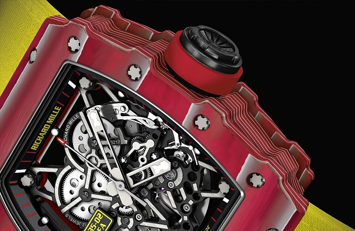 Richard Mille Watch of a Champion: Richard Mille teams up with Raphael Nadal Richard Mille RM 35 02 Rafa Nadal crop 1
