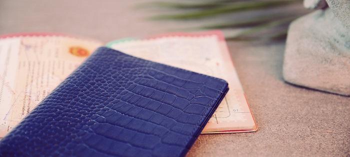 Luxury 7 Striking Ideas for a Luxury Passport Holder passport holder b