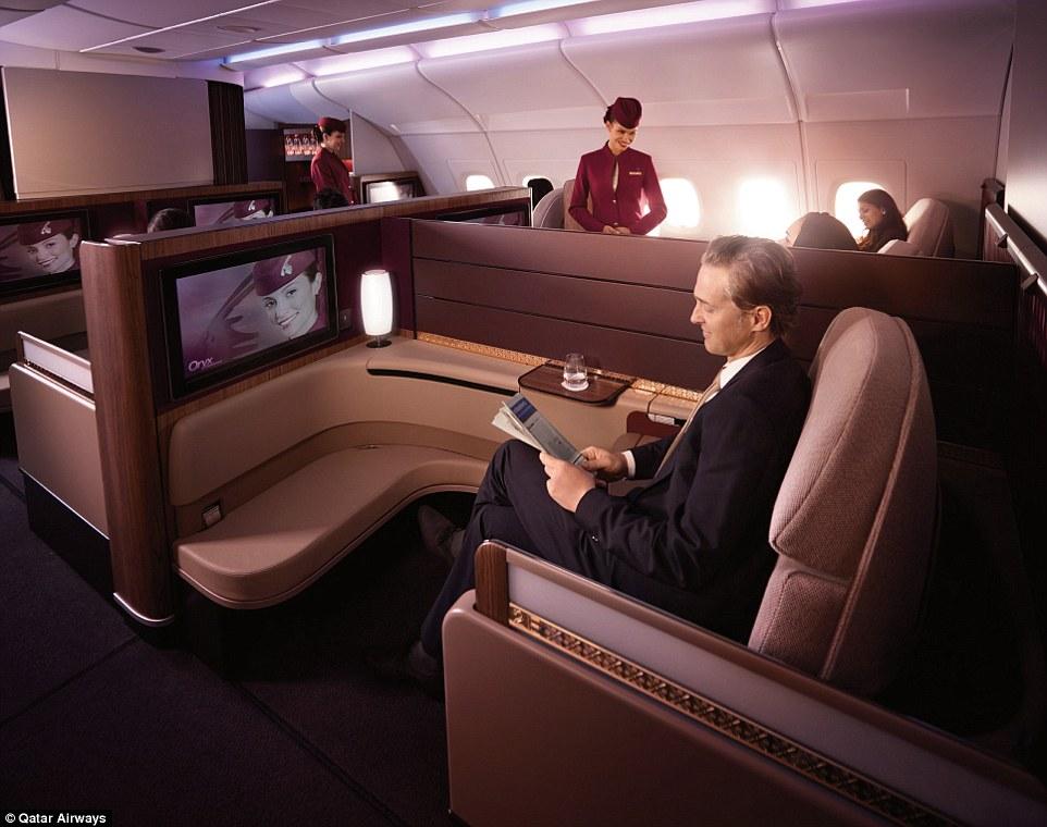 luxury airlines 10 Luxury Airlines in the World 1412768714862 wps 30 Qatar Airways A380 interi