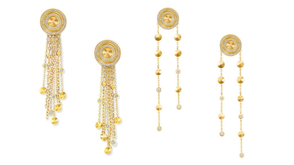 jewelry The new Gold Jewelry Collection by VanLeles diamond earings
