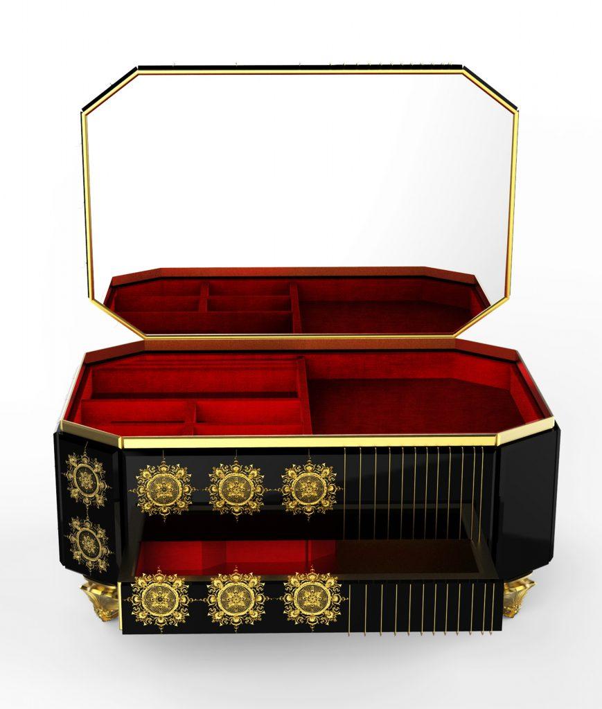 filigree Discover the Exquisite Filigree Jewelry Case by Boca do Lobo FILIGREE02