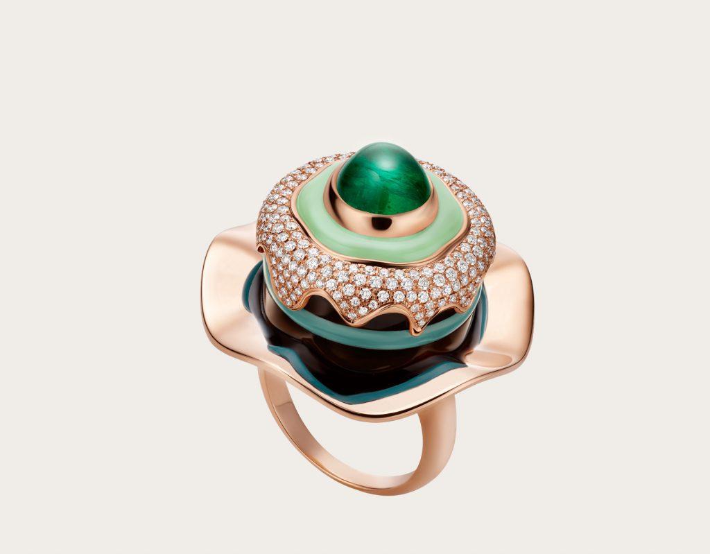 jewelry Bvlgari Jewelry: Celebration of Italian Traditions Festa Rings BVLGARI 262666 E 1