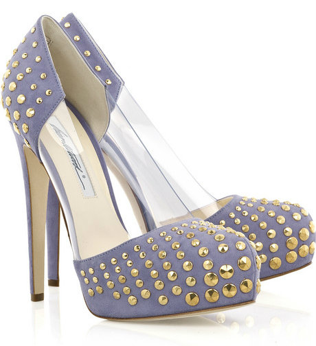 The Most Expensive Women's shoes women's shoes The Most Expensive Women's shoes Brian Atwood Loca Studded Pumps 1