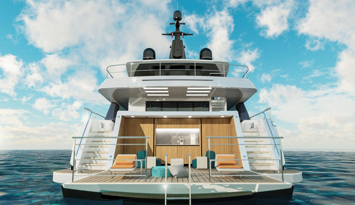 The Ultimate Luxury Yacht: The Wider 130