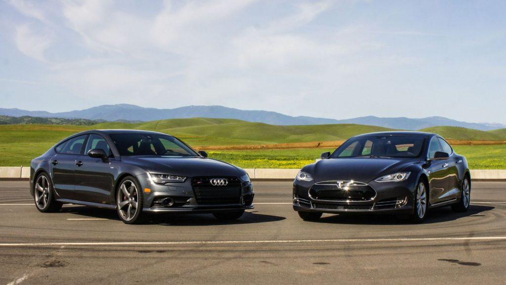 audi Sneak Peek: Audi S7 vs. Tesla Model S 90D audis7vsteslamodels90d 005
