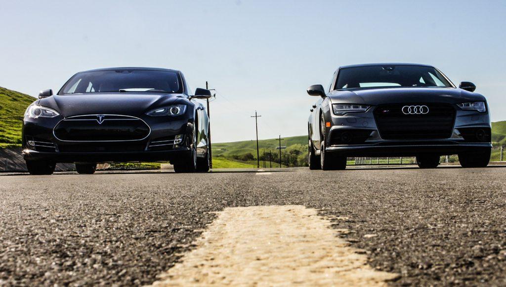 audi Sneak Peek: Audi S7 vs. Tesla Model S 90D embed audis7vsteslamodels90d 002