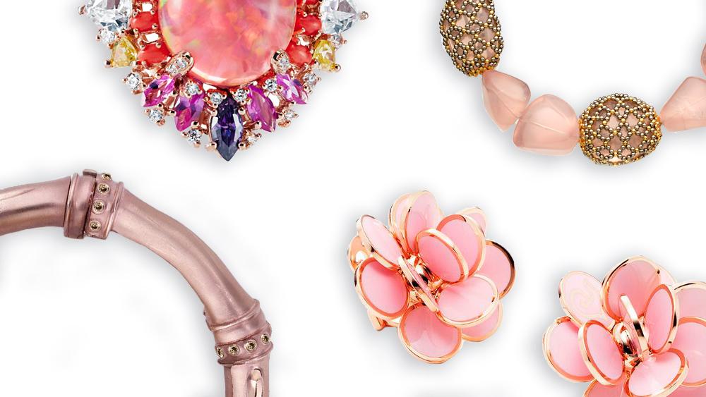 Fall season: Pink Jewelry Designs