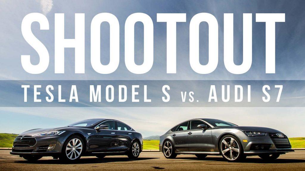 Sneak Peek: Audi S7 vs. Tesla Model S 90D audi Sneak Peek: Audi S7 vs. Tesla Model S 90D maxresdefault 1
