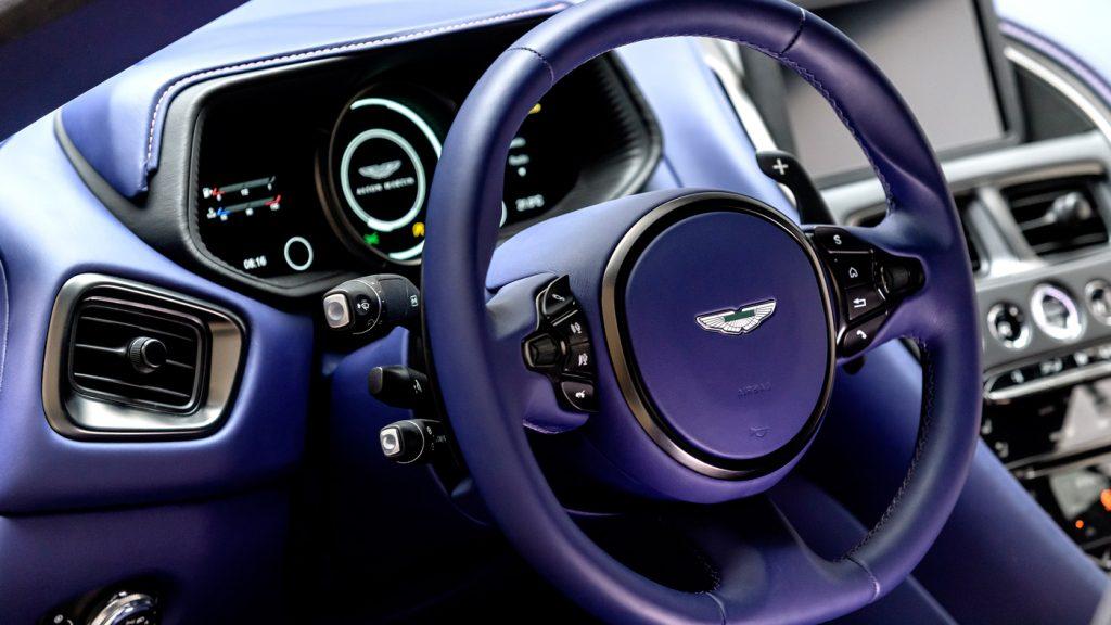 Aston Martin Unveils the New Aston Martin DB 11 V8 aston martin db 11 Aston Martin Unveils the New Aston Martin DB 11 V8 v8 powered db11 07 1024x576