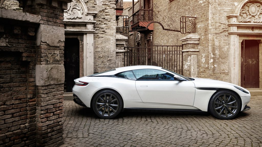aston martin db 11 Aston Martin Unveils the New Aston Martin DB 11 V8 v8 powered db11 0911 1024x576