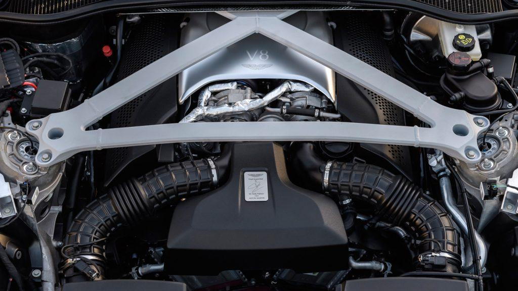 Aston Martin Unveils the New Aston Martin DB 11 V8 aston martin db 11 Aston Martin Unveils the New Aston Martin DB 11 V8 v8 powered db11 211 1024x576