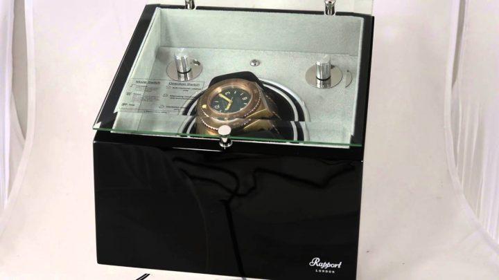 25 Luxurious Watch Winders watch winders 25 Luxurious Watch Winders ASTRO MONO by Rapport London