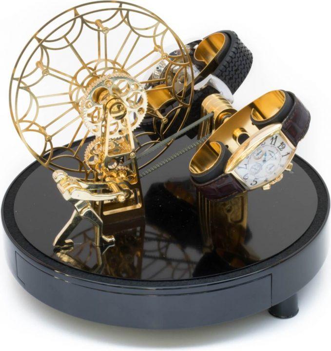 25 Luxurious Watch Winders watch winders 25 Luxurious Watch Winders FERRIS WHEEL by Kunstwinder