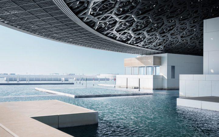 Sneak Peek: Louvre Abu Dhabi Louvre Abu Dhabi Sneak Peek: Louvre Abu Dhabi louvre abu dhabi side view LOUVRE0917