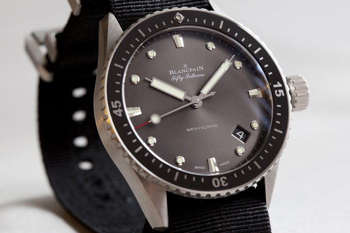 blancpain Legendary Watches: Blancpain Fifty Fathoms 1953 Blancpain Fifty Fathoms 1