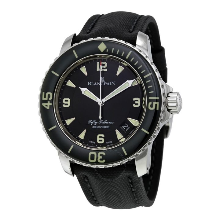 blancpain Legendary Watches: Blancpain Fifty Fathoms 1953 Blancpain Fifty Fathoms 5