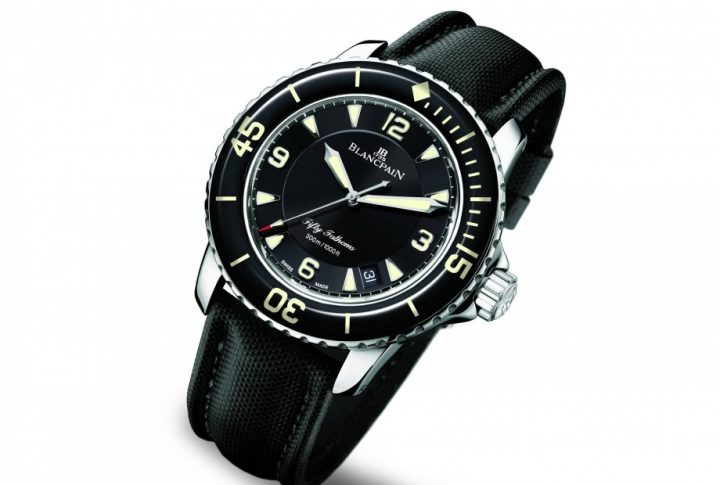 blancpain Legendary Watches: Blancpain Fifty Fathoms 1953 Blancpain Fifty Fathoms 7