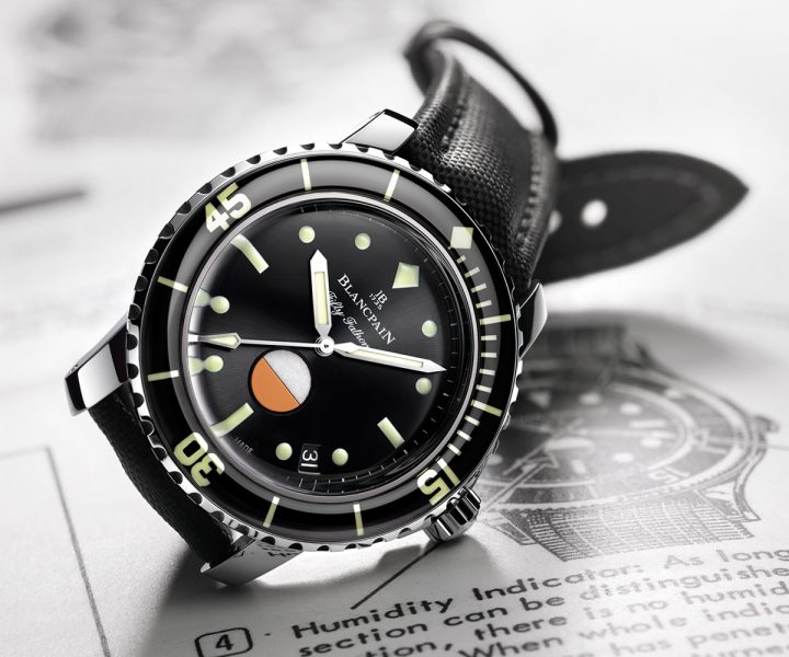 blancpain Legendary Watches: Blancpain Fifty Fathoms 1953 Blancpain Fifty Fathoms 8