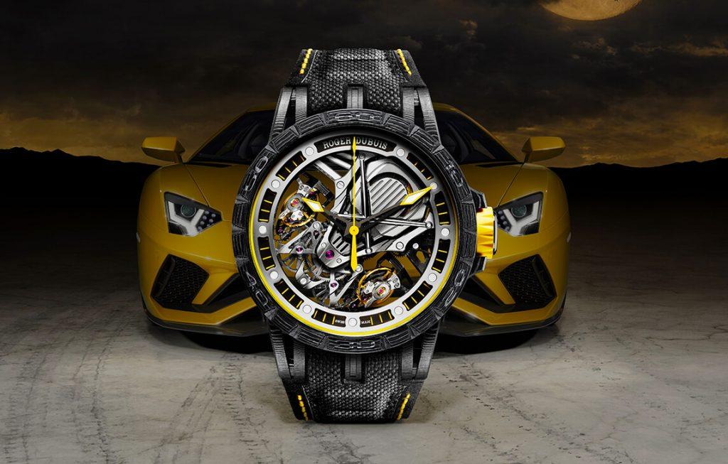 Sneak Peek: Roger Dubuis X Lamborghini Debut Excalibur Aventador S