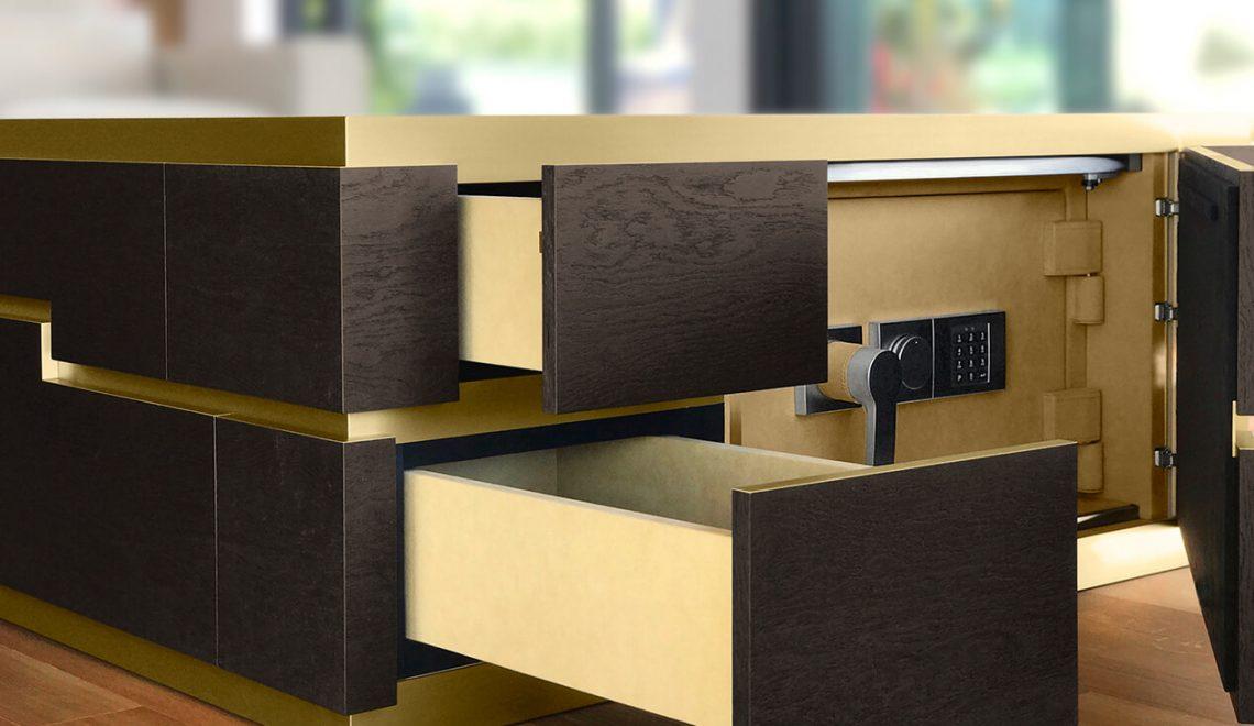 Mensa Magis: The New Luxury Safe by Döttling