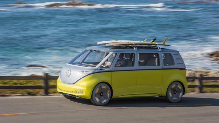 2018 Consumer Electronics Show: Top Cars Consumer Electronics Show 2018 Consumer Electronics Show: Top Cars 7 volkswagen id buzz driving 720x405