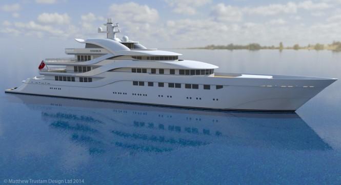Luxury Yacht Design: Matthew Trustam Design Luxury Yacht Luxury Yacht Design: Matthew Trustam Design CONNIKAI