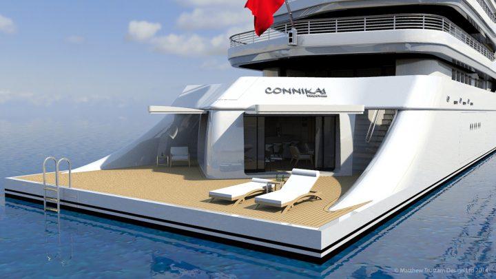 Luxury Yacht Design: Matthew Trustam Design Luxury Yacht Luxury Yacht Design: Matthew Trustam Design CONNIKAI1 720x405