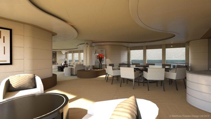 Luxury Yacht Design: Matthew Trustam Design Luxury Yacht Luxury Yacht Design: Matthew Trustam Design CONNIKAI3 720x405