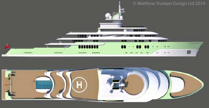 Luxury Yacht Design: Matthew Trustam Design Luxury Yacht Luxury Yacht Design: Matthew Trustam Design MAZU3