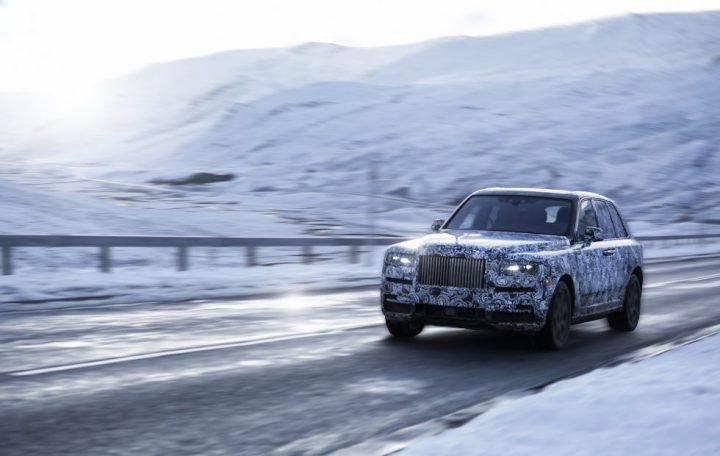 Sneak Peak: Rolls Royce Cullinan rolls royce Sneak Peak: Rolls Royce Cullinan RRMC RR31 Snow 1