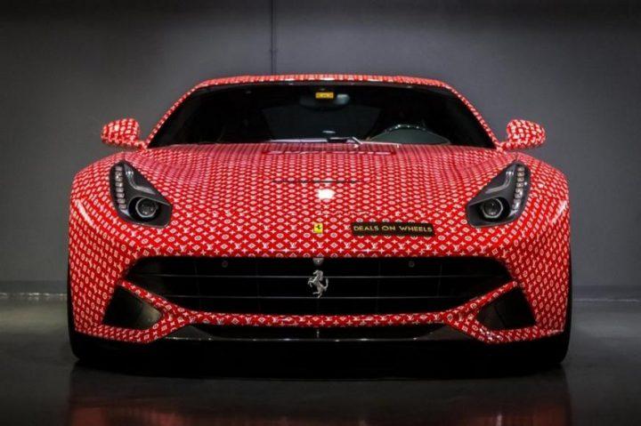 Discover Louis Vuitton x Supreme Ferrari F12 Berlinetta ferrari f12 Discover Louis Vuitton x Supreme Ferrari F12 Berlinetta supreme louis vuitton ferrari 2