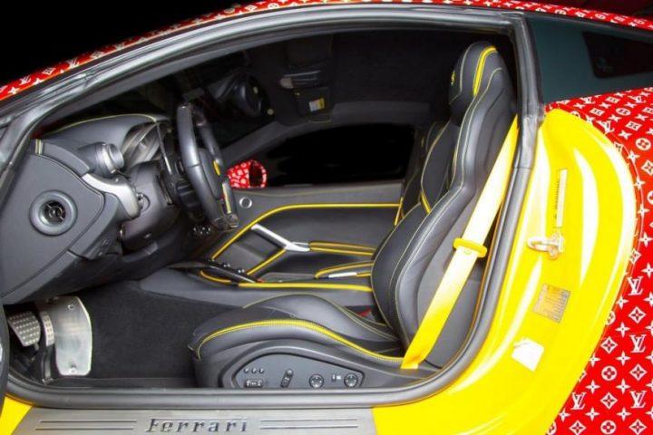ferrari f12 Discover Louis Vuitton x Supreme Ferrari F12 Berlinetta supreme louis vuitton ferrari 6