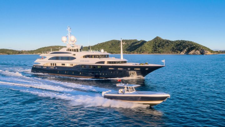 The Best Luxury Yachts of Antigua Charter Yacht Show luxury yachts The Best Luxury Yachts of Antigua Charter Yacht Show Benetti Andiamo 1